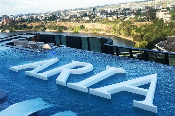 ARIA Floating Pool Letters